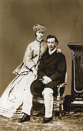 Maria Feodorovna (Dagmar of Denmark) - Princess Dagmar and her first fiancé Tsesarevich Nicholas