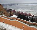 Nizhny Novgorod. View to Red Barracks and Volga River.jpg