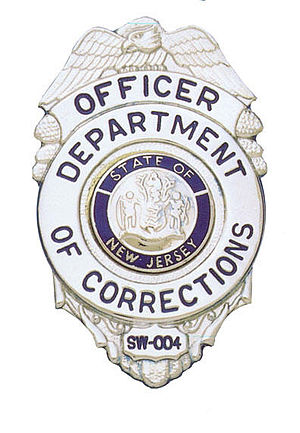 New Jersey Department of Corrections - Image: Njdoc badge