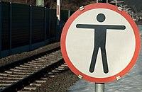No trespassing sign at the railway.jpg