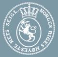 Norges Høyesteretts segl på blått.png