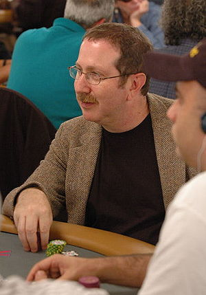 Norman Chad - Norman Chad at the 2006 World Series of Poker