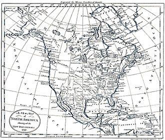 Modern history - North America 1797