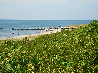 North Cape May, New Jersey - North Cape May shoreline