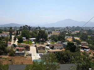 Encanto, San Diego - North Encanto, looking east