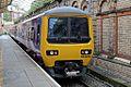 Northern Rail Class 323, 323225, platform 1, Crewe railway station (geograph 4524275).jpg