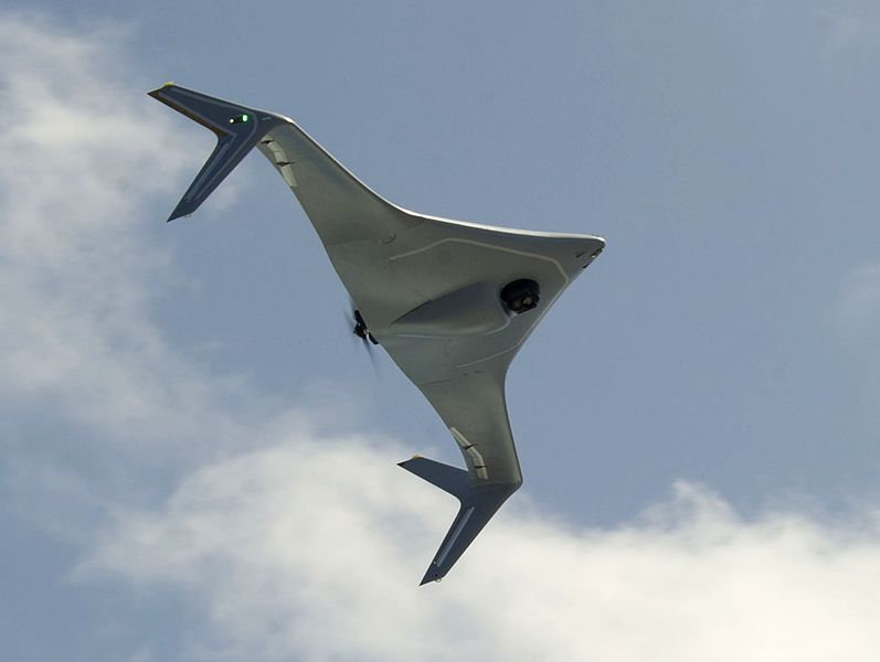 File:Northrop Grumman Bat UAV in flight in June 2014.JPG Description English: During an experimentation conducted by U.S. Fourth Fleet and Navy Warfare Development Command (NWDC), the Northrop Grumman Bat unmanned aircraft system flies over the joint high speed vessel USNS Spearhead (JHSV-1) during its maiden flight off of a U.S. Navy vessel in the Straits of Florida.