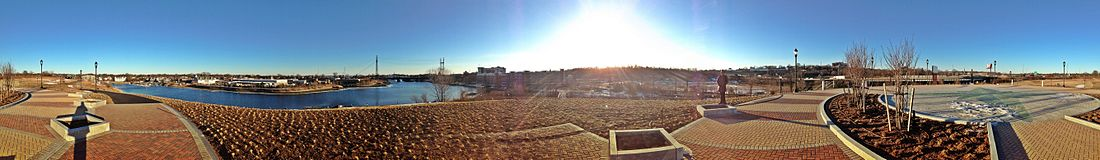 Norwalk Panorama, CT, 06850, USA - Feb 2013