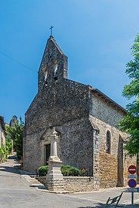 Notre Dame de l'Assomption Church of Bruniquel 01.jpg