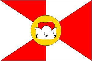 Nové Sedlo (Louny District) - Image: Nové Sedlo vlajka