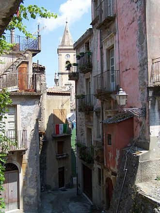 Novara di Sicilia - Novara di Sicilia cityscape