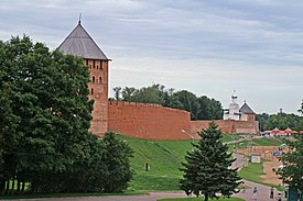 Walls of the Novgorod Kremlin