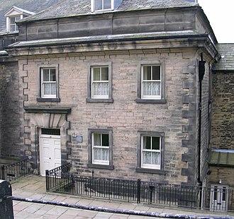 Fulneck Moravian Settlement - No.34 Fulneck, home of Benjamin Latrobe 1764–1820