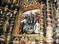 Ołtarz główny bazyliki koronowskiej z obrazem B.Strobla.JPG