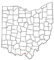 Location of Sciotodale, Ohio