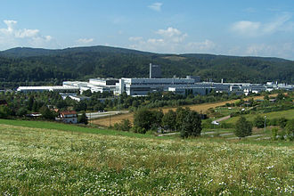 Eisenach - A factory of Opel, Eisenach's largest employer