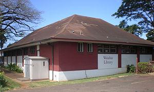 Waialua, Hawaii - Waialua Library