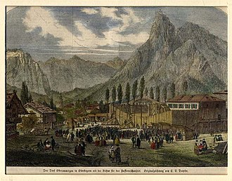 Oberammergau Passion Play - 1860 production