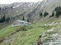 Oberstaufen - Hochgrat östl - Gütlealpe v SO.jpg