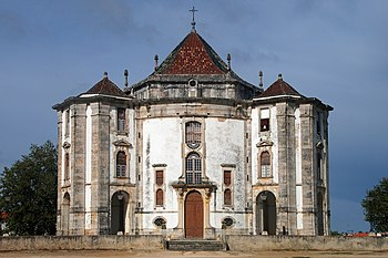 English: Sanctuary of Senhor Jesus da Pedra (L...