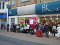 Occupy Isle of Wight protesting in Newport High Street 2.JPG