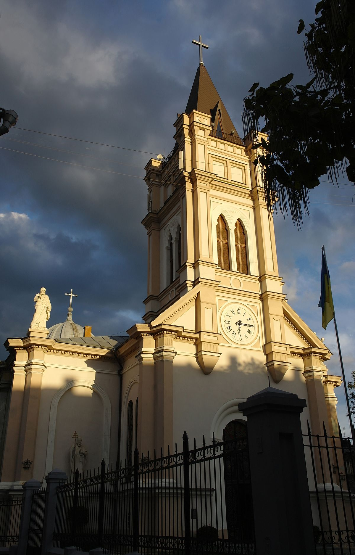 Assumption Of The Blessed Virgin Mary Cathedral Odessa