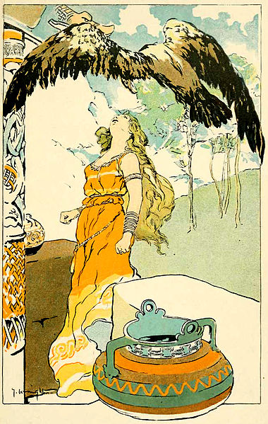File:Odin and Gunnlöð by George Wright.jpg