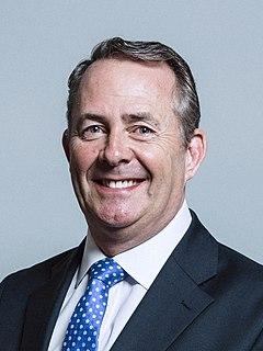 Liam Fox British Conservative politician