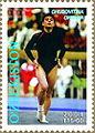 Oksana Chusovitina 2001 Uzbekistan stamp.jpg