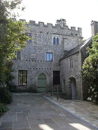 William Bonville, 1st Baron Bonville - Very little of the original medieval manor house remains of Bonville's birthplace; the section shown here is from the late fourteenth century.