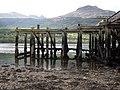 Old Arrochar Pier, Loch Long, Argyll and Bute, Scotlland. Pier remnants.jpg