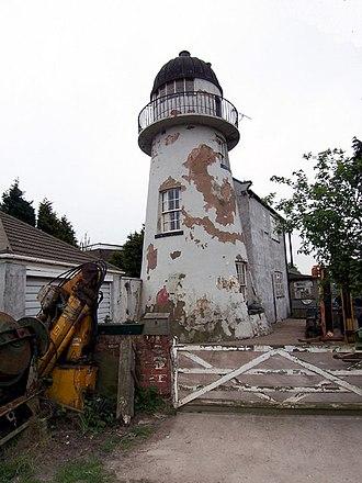 South Killingholme - Image: Old Lighthouse on Killingholme Marshes geograph.org.uk 165155