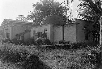 Old University of Alabama Observatory - Image: Old University of Alabama Observatory 02