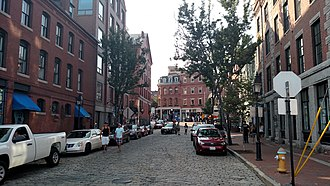 Portland, Maine - Moulton Street in Old Port