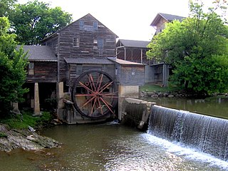 Pigeon Forge Mill United States historic place