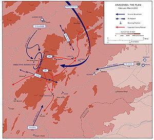 Operation Anaconda -- the plan