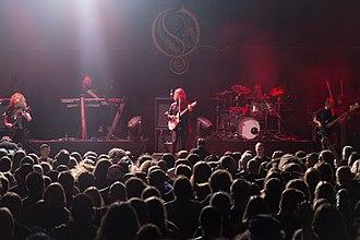 Opeth - Image: Opeth @ Rock Hard Festival 2017 201