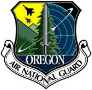 Oregon Air National Guard - Image: Oregon Air National Guard patch 2003