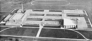 Joseph A. Craig High School - Original Janesville Senior High School, as show in the Janesville Daily Gazette in November of 1995