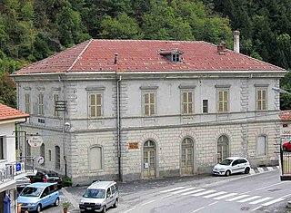 Ormea railway station Italian railway station