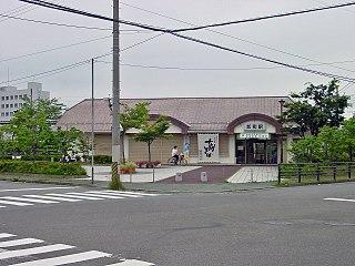 Oroshimachi Station (Fukushima) Railway station in Fukushima, Fukushima Prefecture, Japan