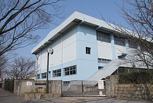 Osaka Prefectural Sakishima High School.JPG