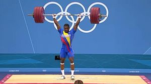 Óscar Figueroa (weightlifter) - Oscar Figueroa at the 2012 Olympics
