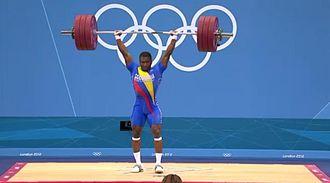 Óscar Figueroa (weightlifter) - Oscar Figueroa at the 2012 Olympics