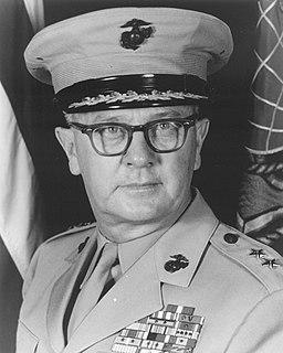 Oscar F. Peatross American Marine Corps general