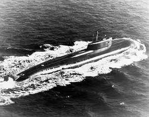 Rubin Design Bureau - The Russian Navy nuclear-powered cruise missile submarine OMSK (K-186), which became the fifth Oscar II class unit