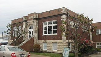 Osgood, Indiana - Osgood's Carnegie library