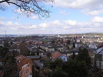Ostermundigen - View from Ostermundigenberg over Ostermundigen