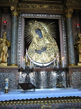 Gate of Dawn - The icon of Our Lady of the Gate of Dawn