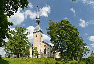 Otepää - Image: Otepää kirik 2012